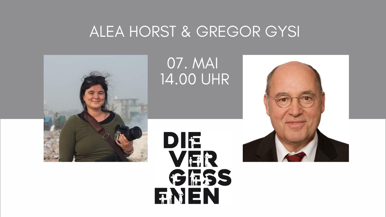 Der Talk mit Alea Horst und Gregor Gysi